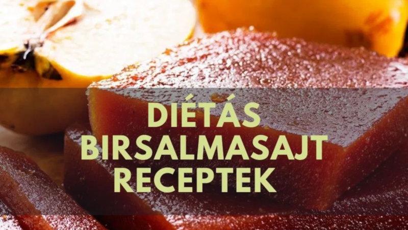 Diétás birsalmasajt receptek