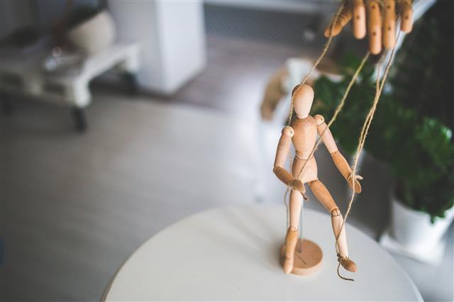 Marionett figura