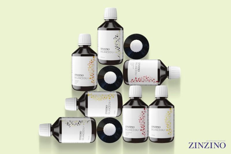 Zinzino Balance Plus omega-3 olaj